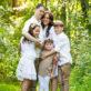 Family summer portrait Rockland county ny